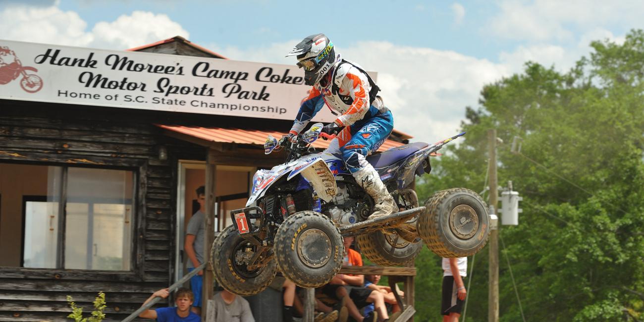 GNCC ATV Round 5 - Camp Coker Bullet Highlights